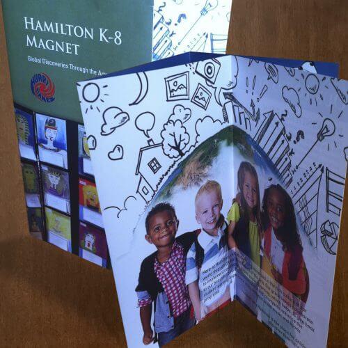 Magnet school brochure